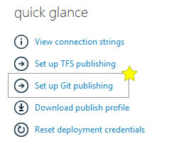 Git Publishing on Windows Azure
