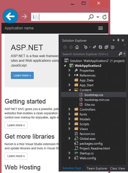 asp mvc 5 and bootstrap 3 css framework, Powerpoint templates