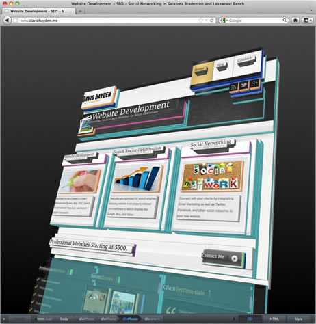 Firefox 11 Web Developer Tools Include Style Editor And 3d