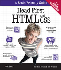 Head First HTML and CSS Book