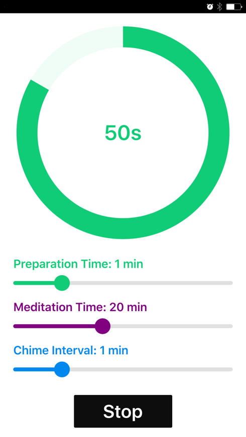 React.js Meditation Timer using WebPack Yeoman Rebass Node