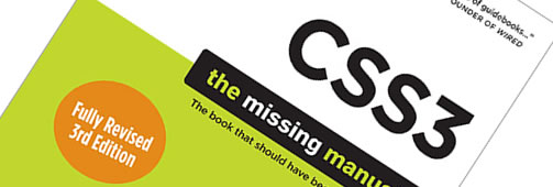 CSS3 The Missing Manual Third Edition Book Review