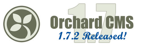 Orchard CMS 1.7.2 Released!