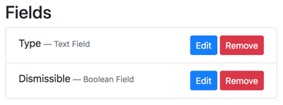 Boolean Field Orchard Core CMS