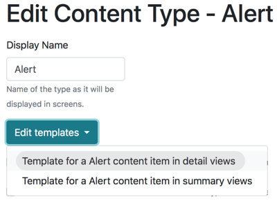 Create Widget Template in Orchard Core CMS from Content Type Editor
