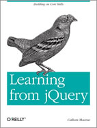 Learn from jQuery Book
