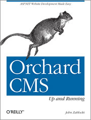 Orchard CMS Up and Running