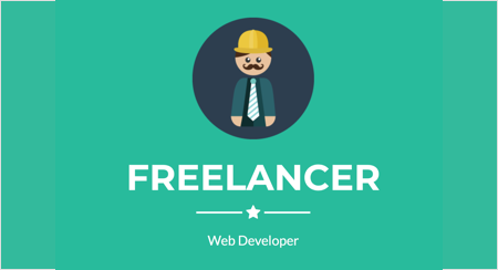 Orchard Core CMS Theme - Freelancer